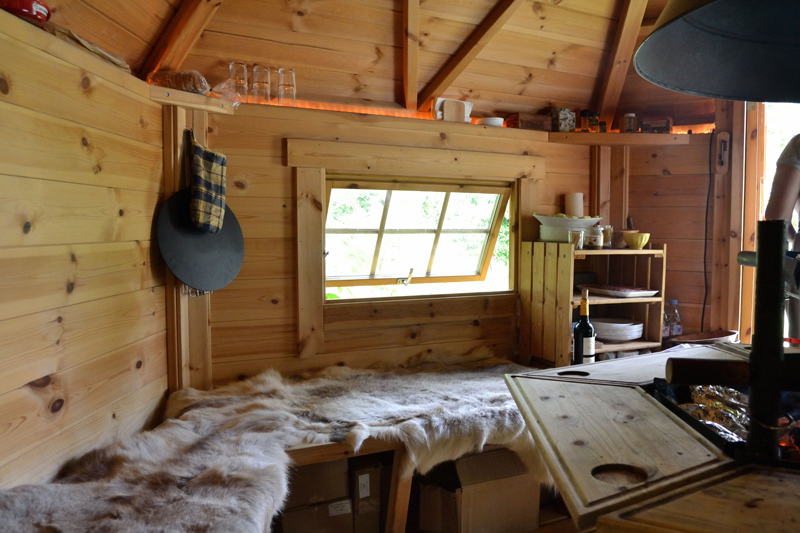 Chalet grill finlandais la maison de l 39 omignon for Maison en bois finlandaise